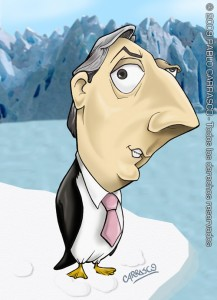 lengua - caricatura